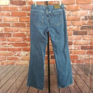 Vintage Calvin Klein Flare Jeans High Rise